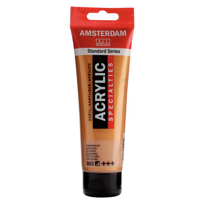 Amsterdam Acrylverf Tube 120 ml Donkergoud 803