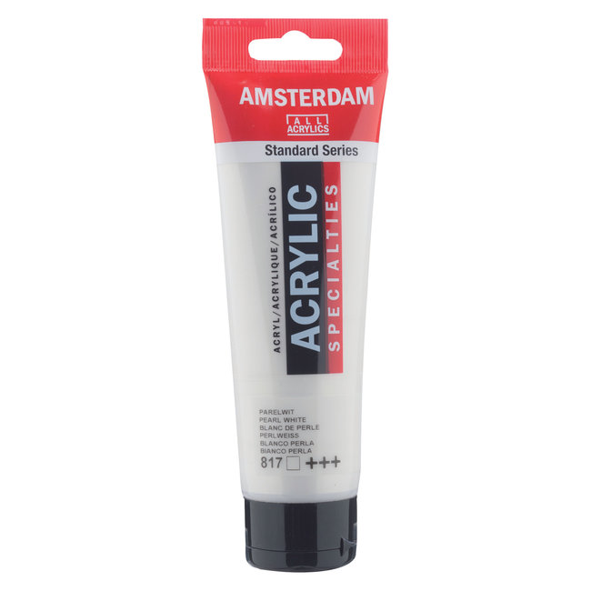 Amsterdam Acrylverf 120 ml Parelwit 817