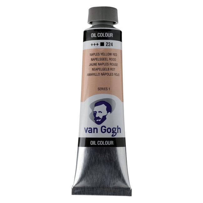 Van Gogh Olieverf Tube 40 ml Napelsgeel Rood 224