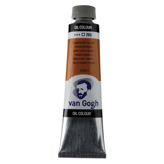 Van Gogh Olieverf Tube 40 ml Transparantoxydgeel 265