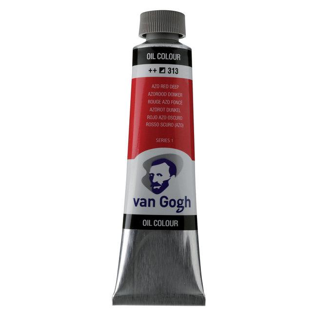 Van Gogh Olieverf Tube 40 ml Azorood Donker 313