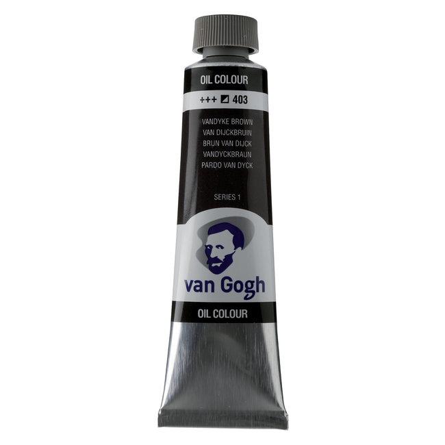 Van Gogh Olieverf Tube 40 ml Van Dijckbruin 403