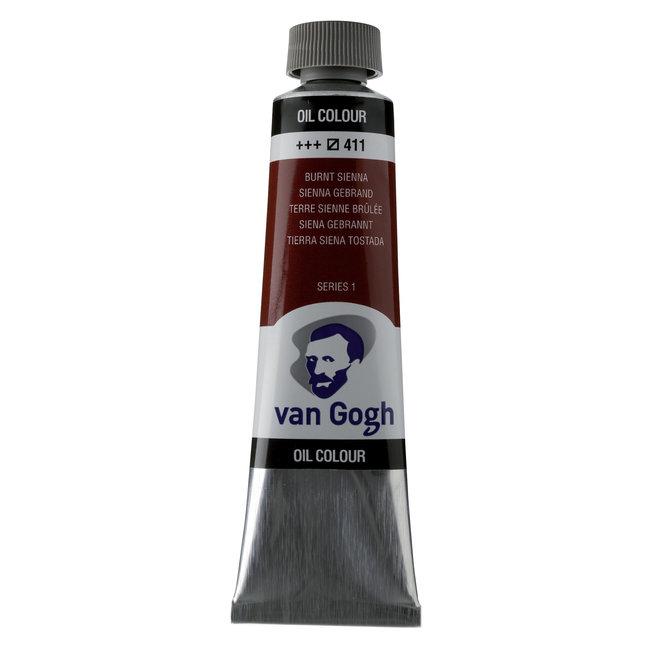 Van Gogh Olieverf Tube 40 ml Sienna Gebrand 411