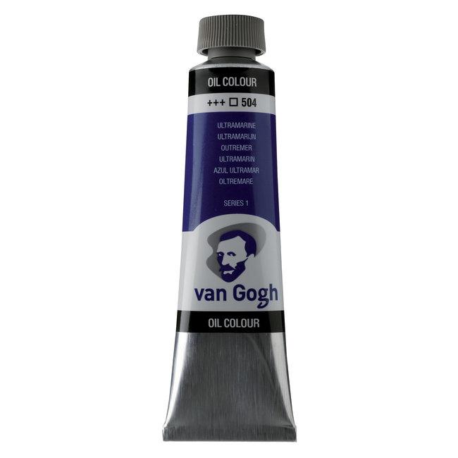 Van Gogh Olieverf Tube 40 ml Ultramarijn 504