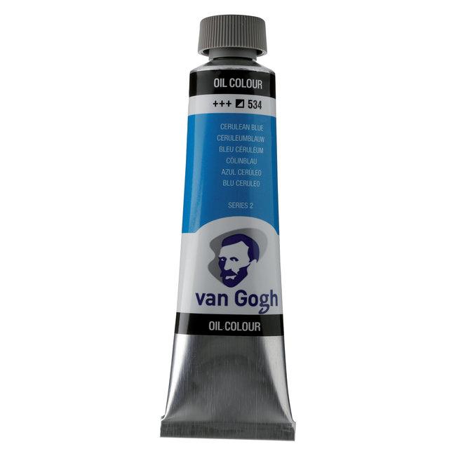 Van Gogh Olieverf Tube 40 ml Ceruleumblauw 534