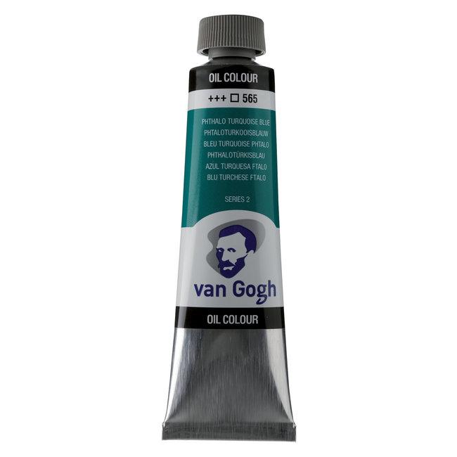 Van Gogh Olieverf Tube 40 ml Phtaloturkooisblauw 565