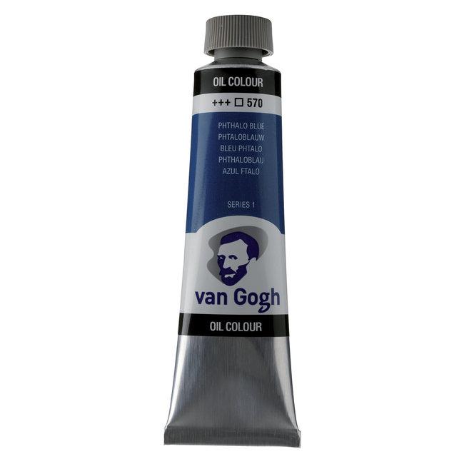 Van Gogh Olieverf Tube 40 ml Phtaloblauw 570