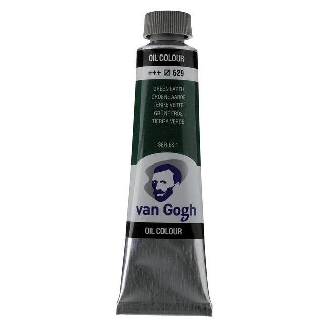 Van Gogh Olieverf Tube 40 ml Groene Aarde 629