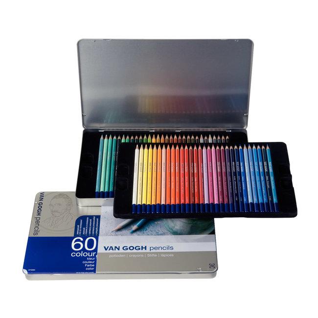 Van Gogh Complete set kleurpotloden met 60 kleuren