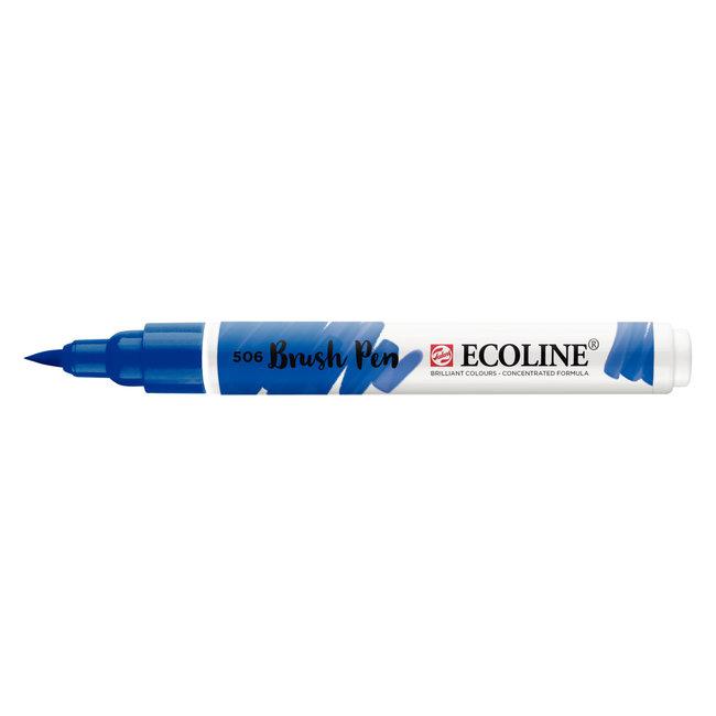 Ecoline Brush Pen Ultramarijn Donker 506