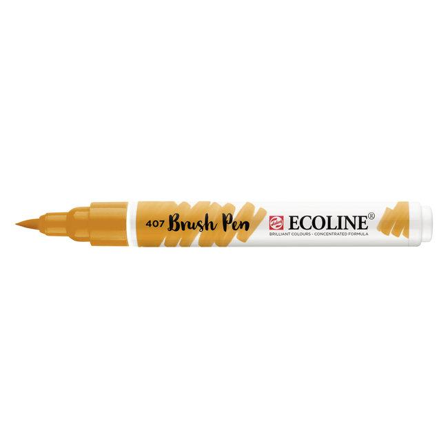 Ecoline Brush Pen Donkere Oker 407