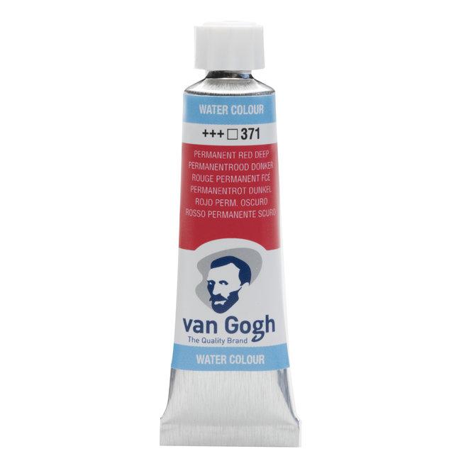 Van Gogh Aquarelverf Tube 10 ml Permanentrood Donker 371
