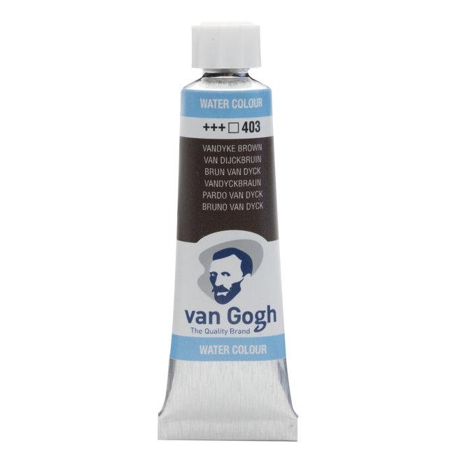 Van Gogh Aquarelverf Tube 10 ml Van Dijckbruin 403