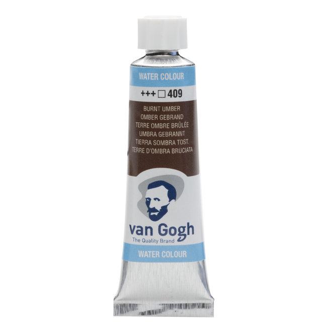 Van Gogh Aquarelverf Tube 10 ml Omber Gebrand 409