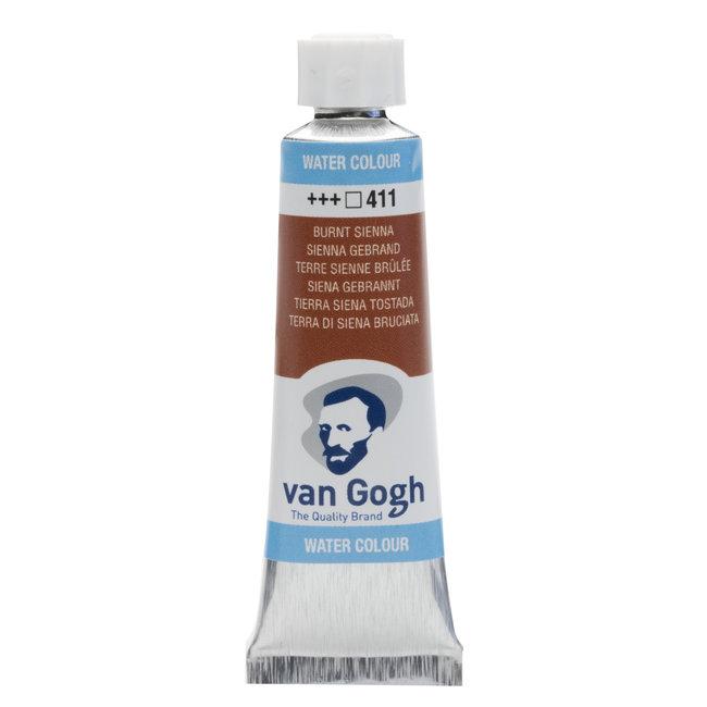 Van Gogh Aquarelverf Tube 10 ml Sienna Gebrand 411