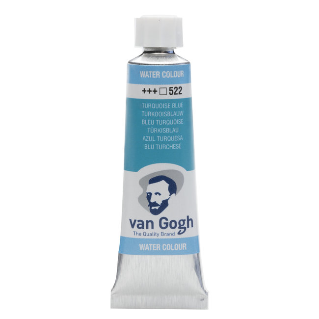Van Gogh Aquarelverf Tube 10 ml Turkooisblauw 522