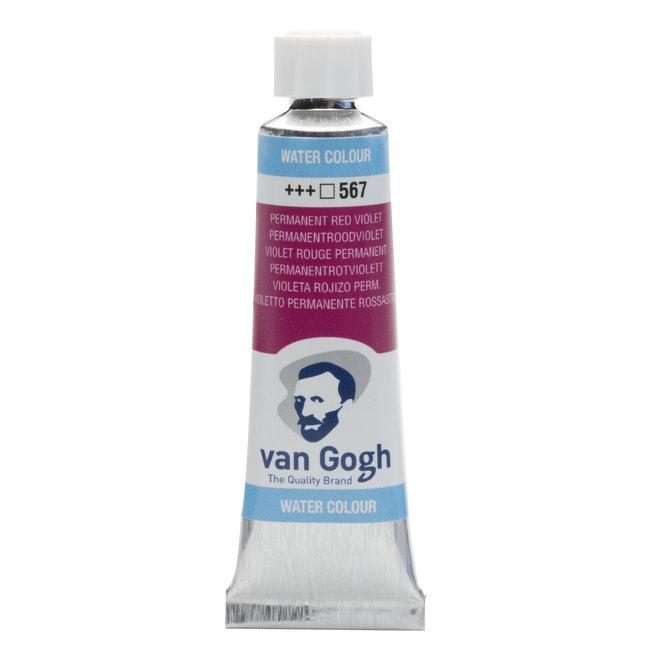Van Gogh Aquarelverf Tube 10 ml Permanentroodviolet 567