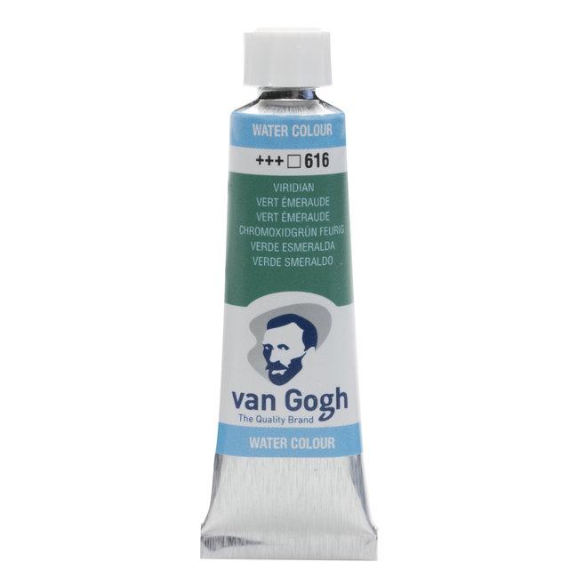 Van Gogh Aquarelverf Tube 10 ml Viridian Groen 616