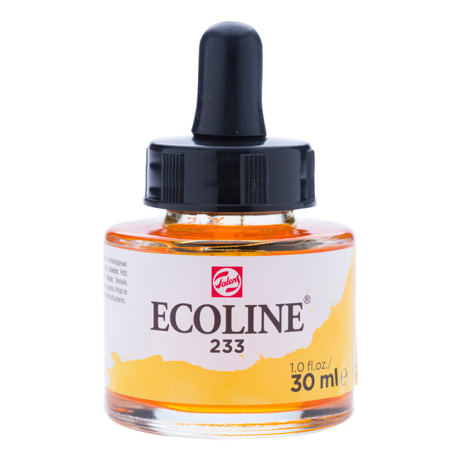 Ecoline Vloeibare Waterverf Flacon 30 ml Chartreuse 233