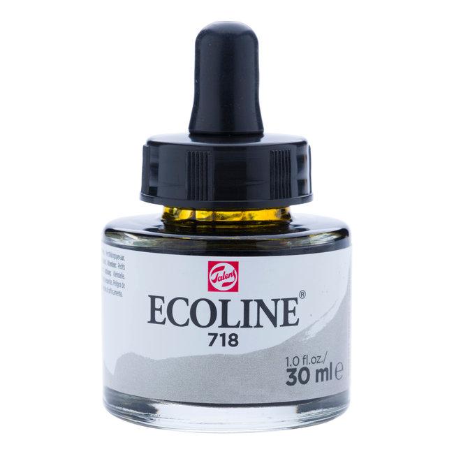 Ecoline Vloeibare Waterverf Flacon 30 ml Warmgrijs 718