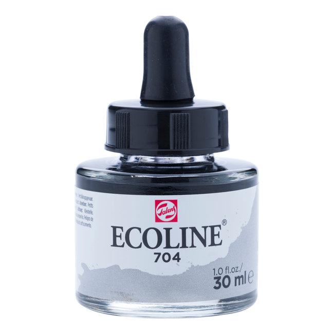 Ecoline Vloeibare Waterverf Flacon 30 ml Grijs 704
