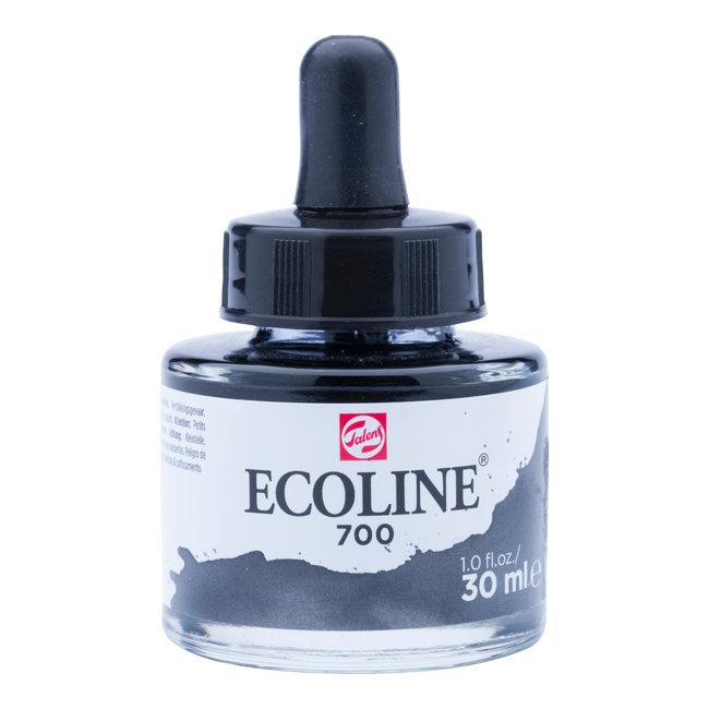 Ecoline Vloeibare Waterverf Flacon 30 ml Zwart 700
