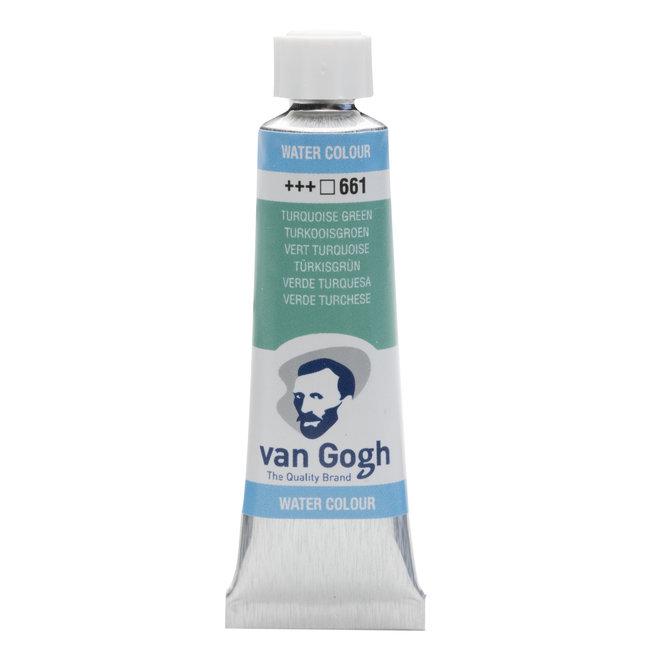 Van Gogh Aquarelverf Tube 10 ml Turkooisgroen 661