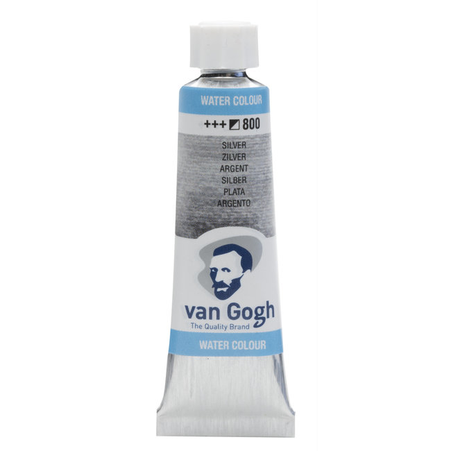 Van Gogh Aquarelverf Tube 10 ml Zilver 800