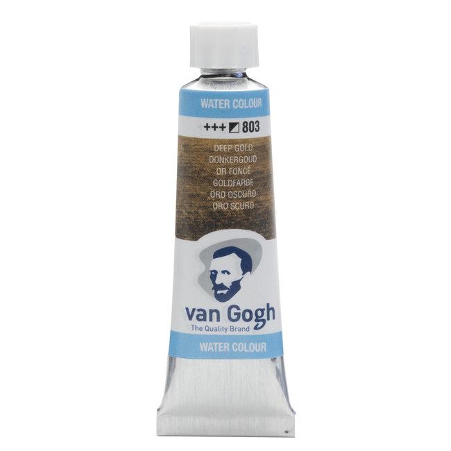 Van Gogh Aquarelverf Tube 10 ml Donkergoud 803