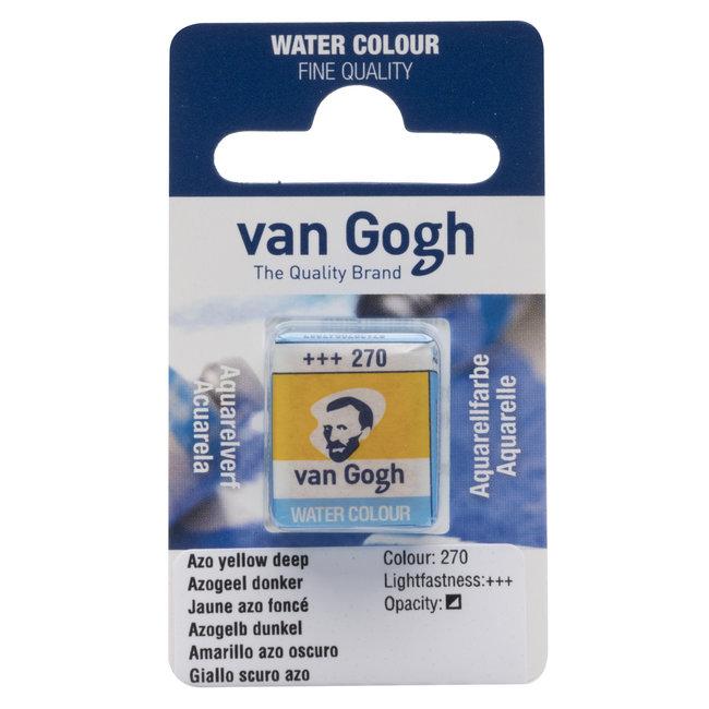 Van Gogh Aquarelverf Napje Azogeel Donker 270