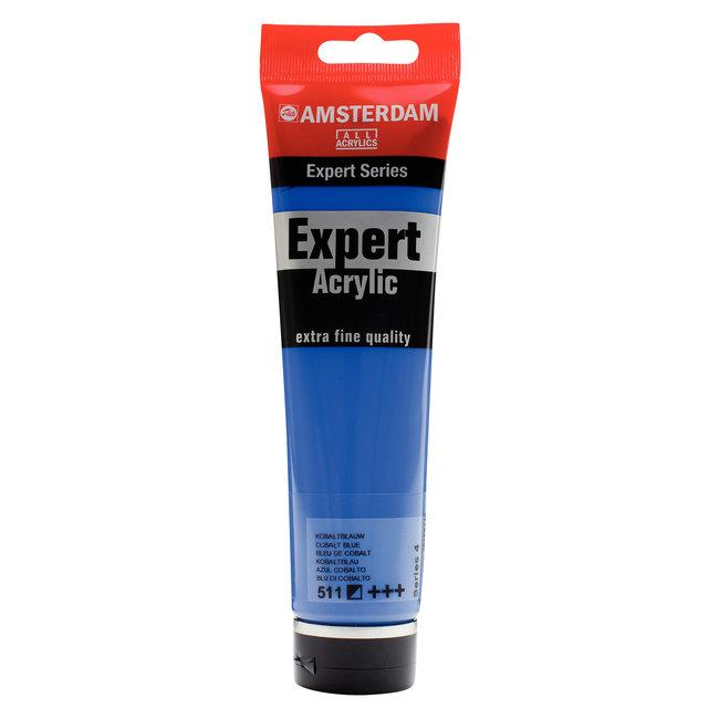 Amsterdam Expert Series Acrylverf Tube 150 ml Kobaltblauw 511