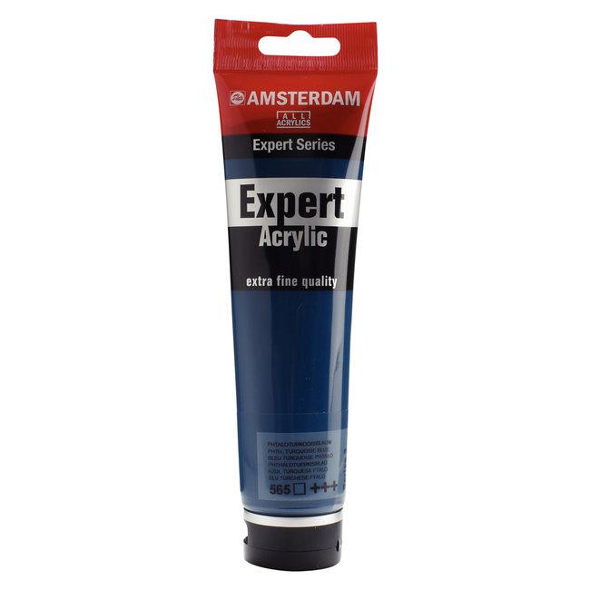 Amsterdam Expert Series Acrylverf Tube 150 ml Phtaloturkooisblauw 565
