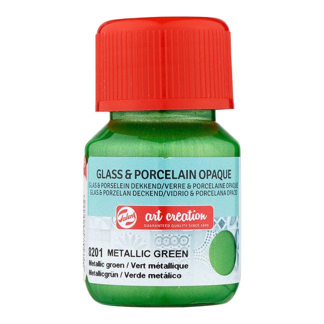 Talens Art Creation Glas & Porselein Dekkend 30 ml Metallic Groen
