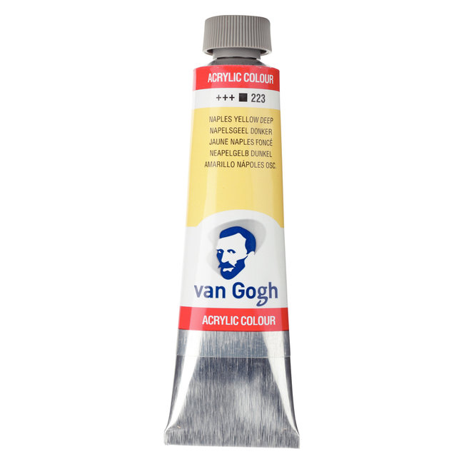 Van Gogh Acrylverf Tube 40 ml Napelsgeel Donker 223