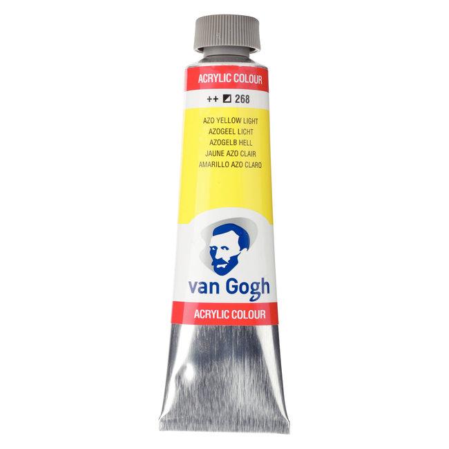 Van Gogh Acrylverf Tube 40 ml Azogeel Licht 268