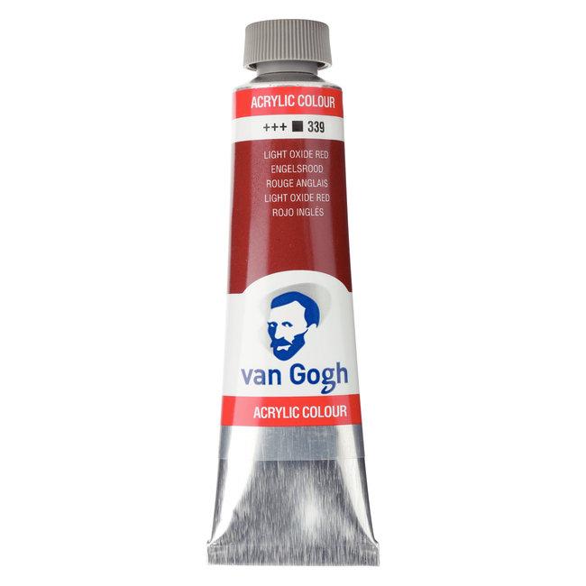 Van Gogh Acrylverf Tube 40 ml Engelsrood 339