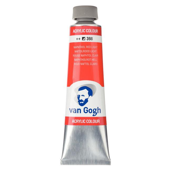 Van Gogh Acrylverf Tube 40 ml Naftolrood Licht 398