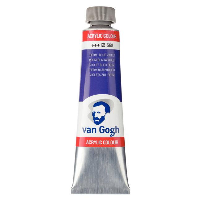 Van Gogh Acrylverf Tube 40 ml Permanentblauwviolet 568