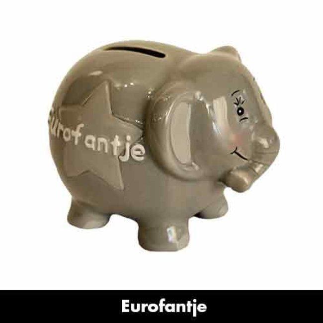 Spaarvarken Eurofantje