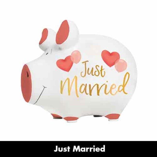 Spaarvarken Just married