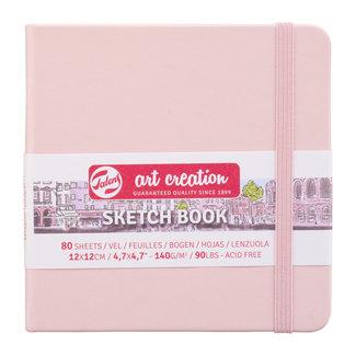 Royal Talens Talens Art Creation Schetsboek Pastel Pink 12 x 12 cm, 140 g, 80 pagina's