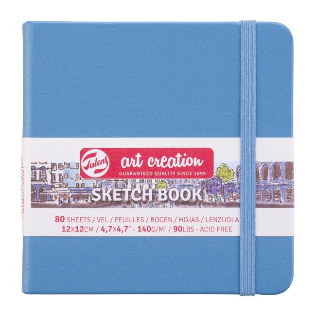 Talens Art Creation Schetsboek Lake Blue 12 x 12 cm, 140 g, 80 pagina's