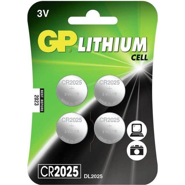 GP Lithium CR2025 knoopcel