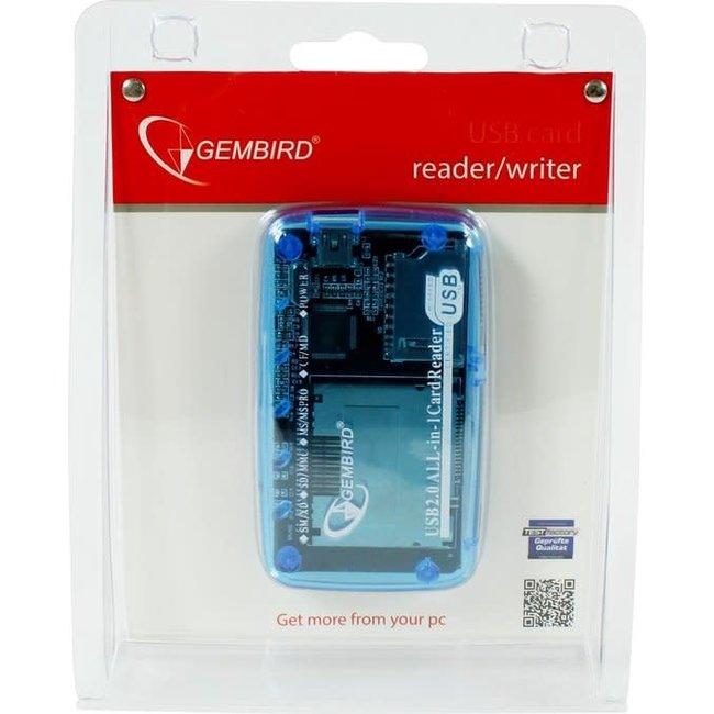 Gembird FD2-ALLIN1 - Cardreader, USB