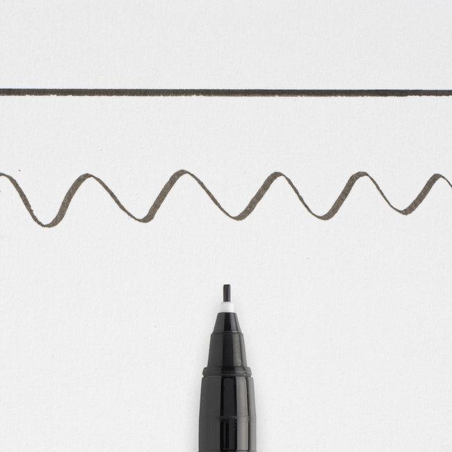 Pigma Kalligraaf Pen 10 zwart - 1mm