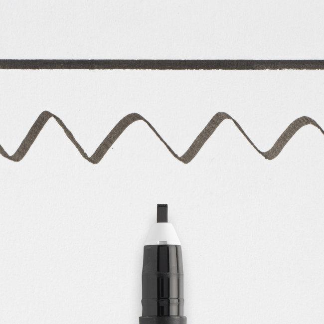 Pigma Kalligraaf Pen 20 zwart - 2mm