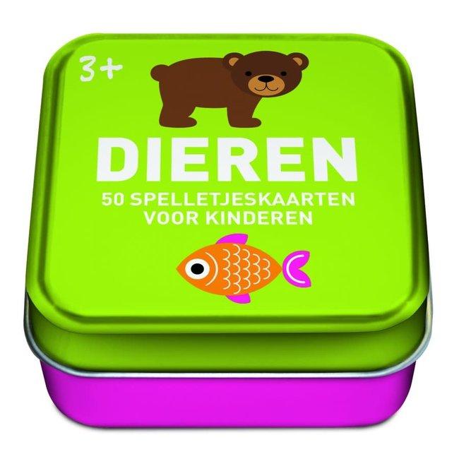 Spelletjeskaarten voor kinderen: Dieren