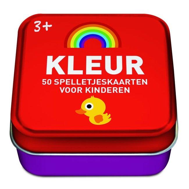 Spelletjeskaarten voor kinderen: Kleur