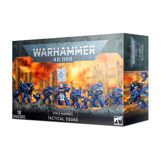 Warhammer Space Marines: Tactical Squad