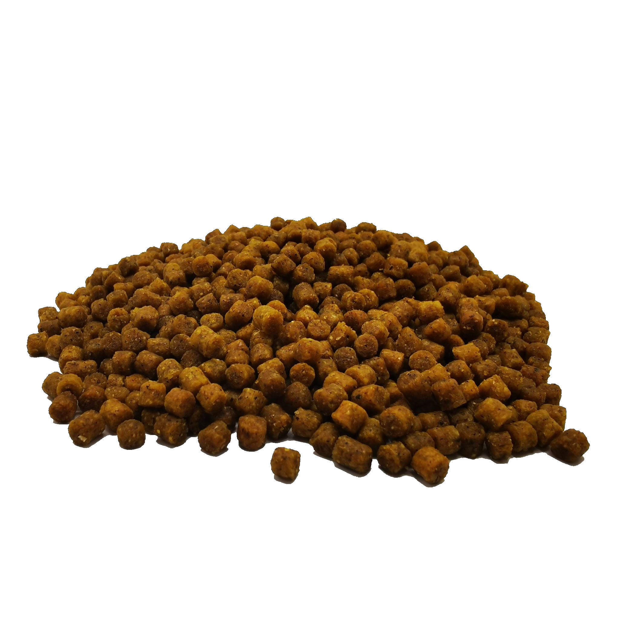 Pellets voor het karpervissen